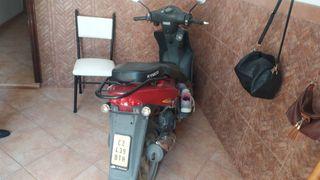 moto Vespa de 49cc