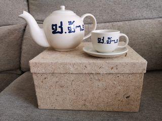 juego té/ café comercio justo