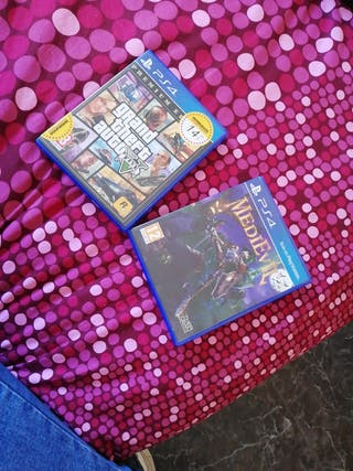 MEDIEVIL Y GTA PLAYSTATION 4