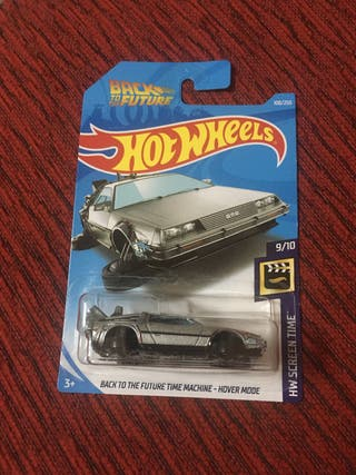 Hot wheels regreso al futuro