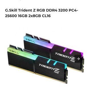 Memoria ram gskill 2x8gb ddr4 3200 MHz