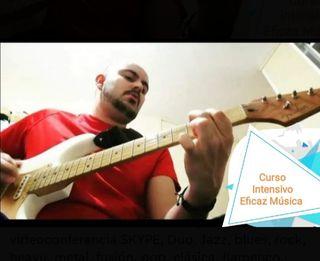 Clases de Guitarra, bajo o canto.