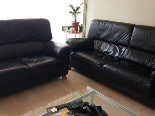 sofas de piel