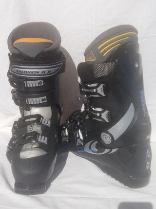 botas de esquí SALOMON talla 42 usadas 2 veces