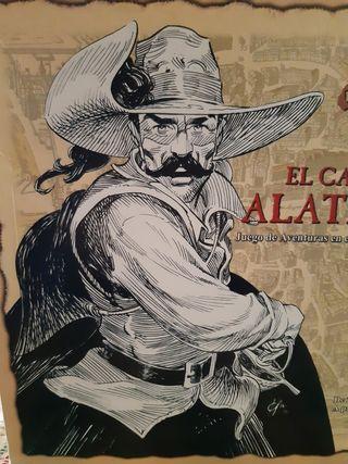El capitán Alatriste, juego de mesa