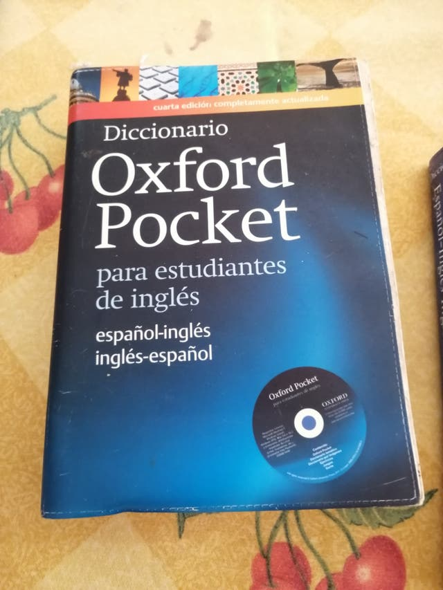 Diccionario De inglés OXFORD Pocket