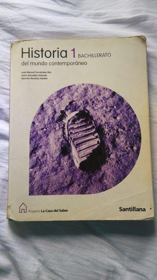 Libro de Historia 1° Bachillerato Santillana