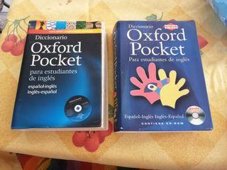 2 Diccionarios Pocket Oxford Inglés