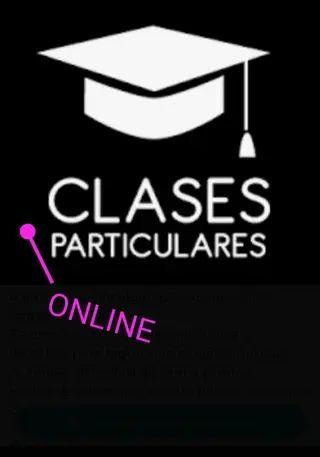 clases particulares presencial u online