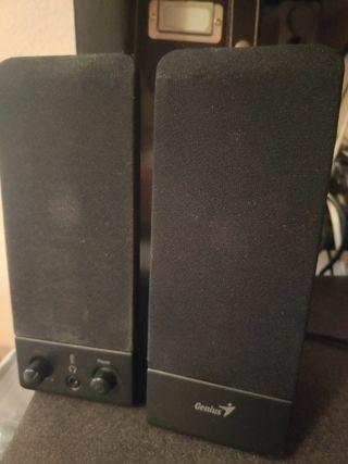 Altavoces Genius SP-S110 ordenador 1W 3.5mm negro