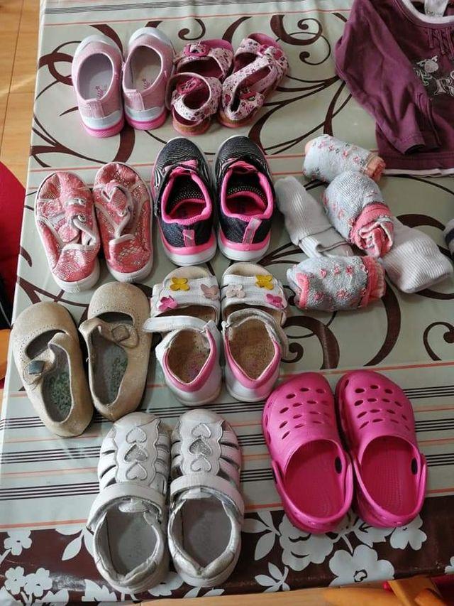 Regalo ropa y calzado de niña