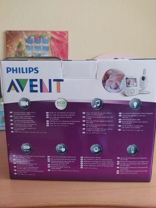 cámara vigila bebés Philips avent