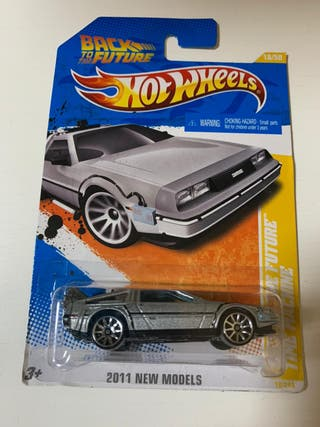 Hw Hotwheels Back to the future delorean