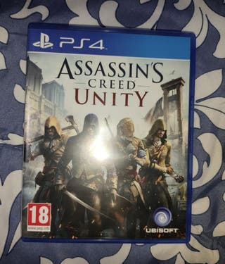 Assassins Creed Unity PS4.