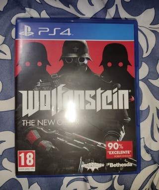 Wolfenstein the new order PS4.