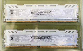 MEMORIA RAM 2x8GB DDR4 2400