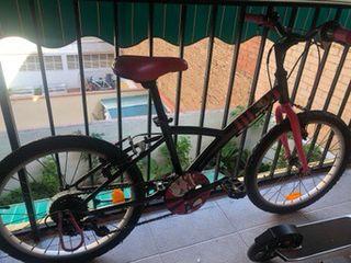 Bicicleta niña con marchas