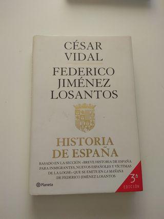 Historia de España,de César Vidal y Losantos