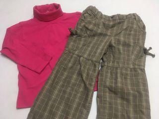 Pantalon Vertbaudet con jersey