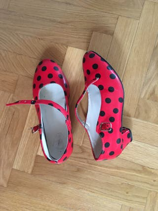 Zapatos de sevillanas