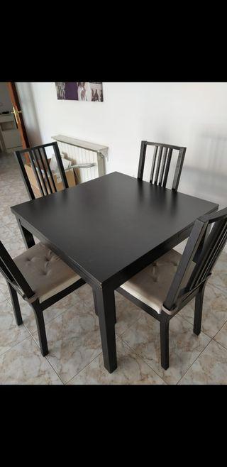Mesa comedor y sillas
