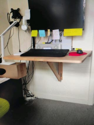 Folding Table Wall-mounted