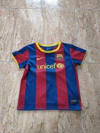 camisetas FCB para niños Nike