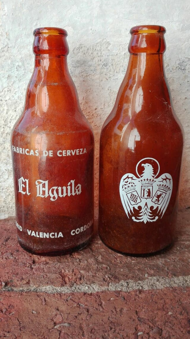 Botellín Cerveza El Águila