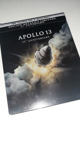 Apollo 13 steelbook 4K UHD blu-ray