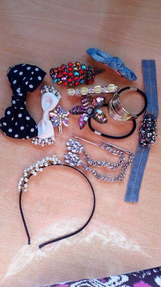 Pack de accesorios joya de pelo