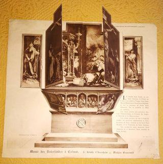 Reproducción antigua retablo de Issenheim