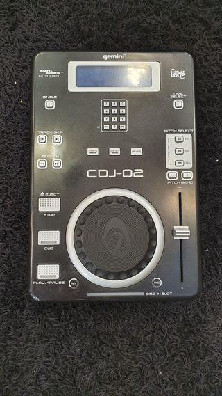 Reproductor CD Gemini CDJ02