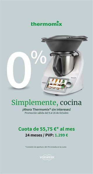Thermomix TM6 nueva a estrenar 0% de interes