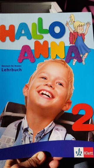 Hallo Anna 2, libro de texto alemán