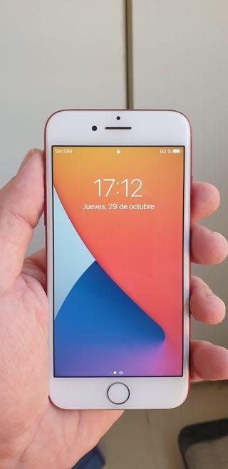 Iphone 7 128gb rojo