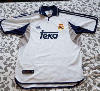 Camiseta Real Madrid adidas año 2000