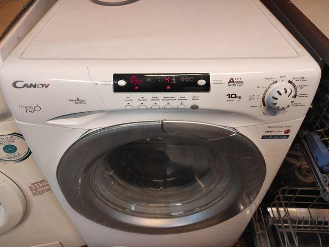 lavadora Candy de 10 kilos