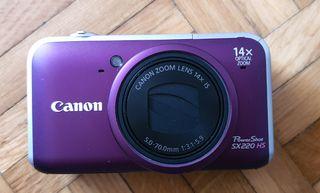 Cámara digital CANON Powershot SX220 HS