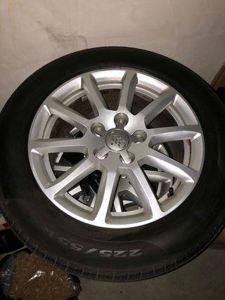 Llantas audi 16 + Neumáticos