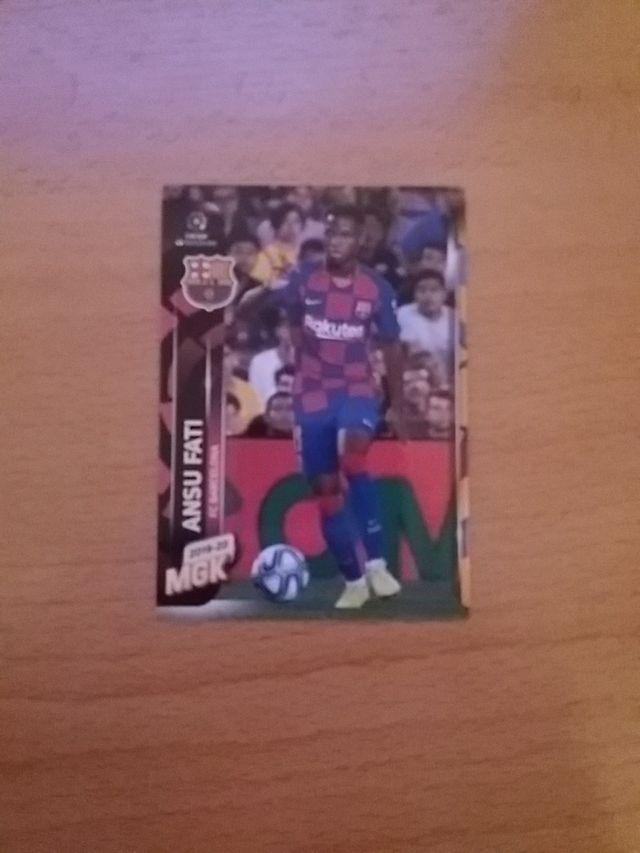 Ansu fati Barcelona rookie