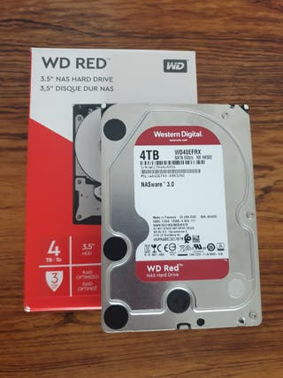 Disco NAS WD Red 4TB