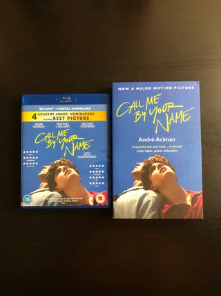 Call Me By Your Name (BluRay + Libro)