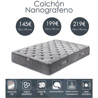 Oferta Colchón nanografeno