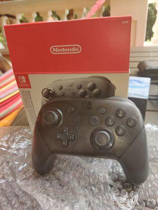 Mando Pro Nintendo Switch Como Nuevo