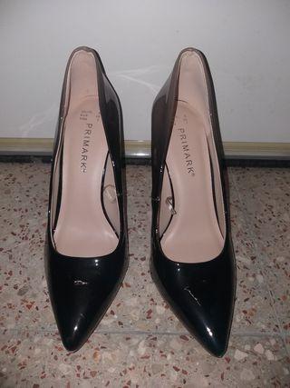 Zapatos de tacón talla 38