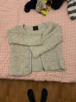 Chaqueta borrego Zara Knit