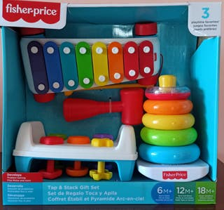 Set de 3 juguetes Fisher Price bebé