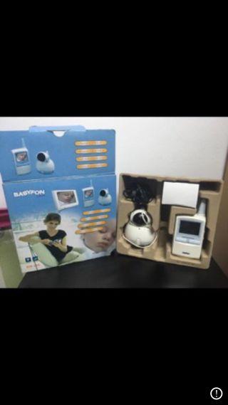 Vídeo cámara vigila bebés o mascotas