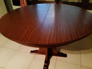 Mesa madera comedor extensible