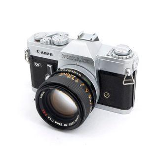 Canon Pellix + 50mm f1.4 ssc